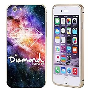 DK_iPhone 6 compatible Graphic/Metallic/Special Design/Novelty Bumper Frame