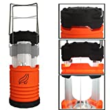 EJ® Portable Outdoor LED Camping Lantern Flashlight with Compass for A Young Heart !