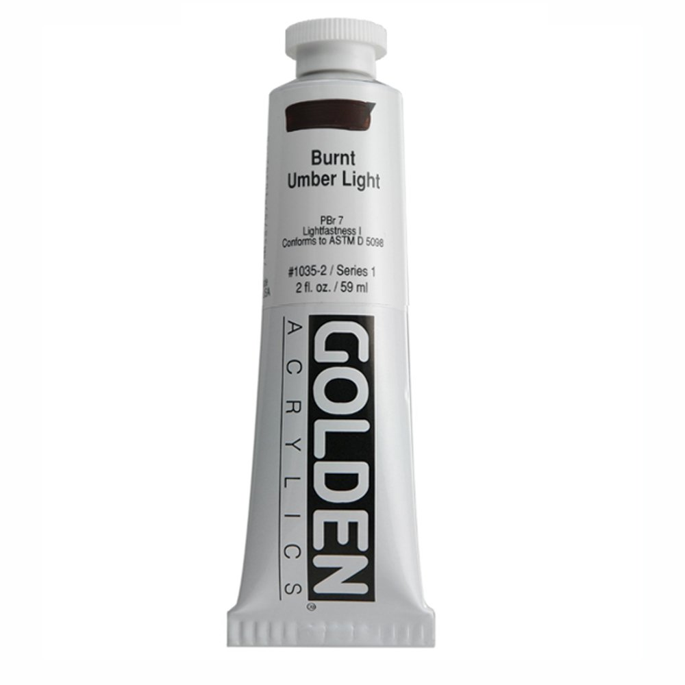 DS - Golden - GAC HB 946ml Naphthol rot Light - 5001210-7 Burnt Umber Light 60 ml