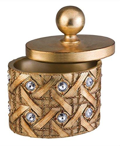 ORE International K-4260JX Mahla Jewelry Box, 9-Inch Height, Gold