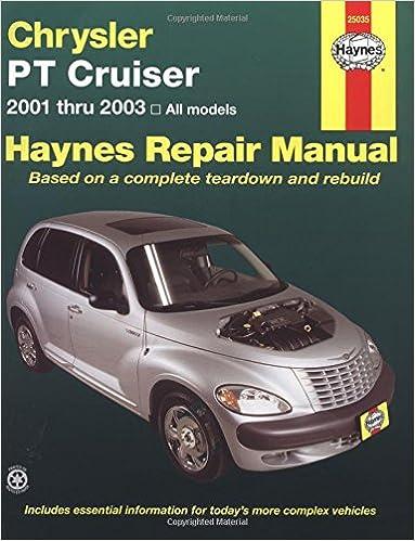 2001 chrysler pt cruiser service repair manual download