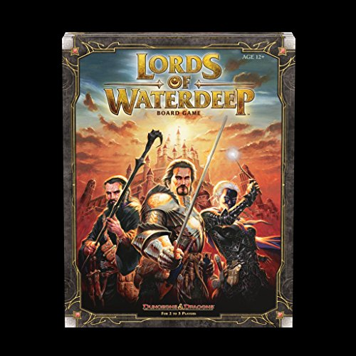 Wizards of the Coast Lords of Waterdeep: A Dungeons & Dragons Board Game by Wizards of the Coast