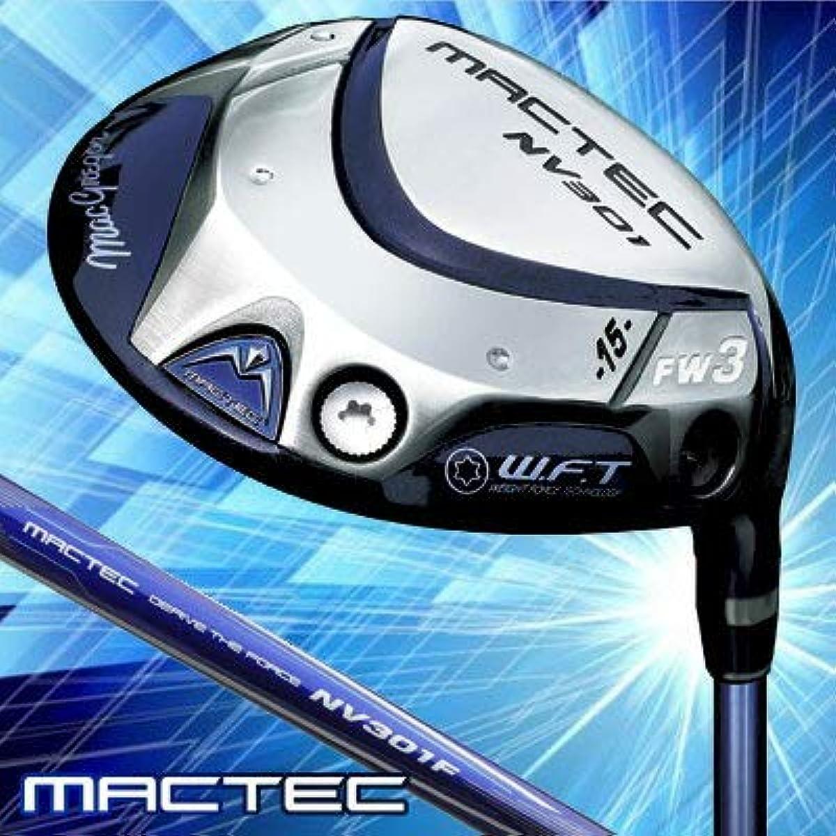 [해외] MACTEC(맥텍) 마쿠레가 NV301 페어 웨이 우드 MACTEC NV301F 카본 샤프트 맨즈 골프 클럽 오른손잡이용