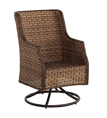 Highland Wicker Outdoor Swivel Dining Chair price