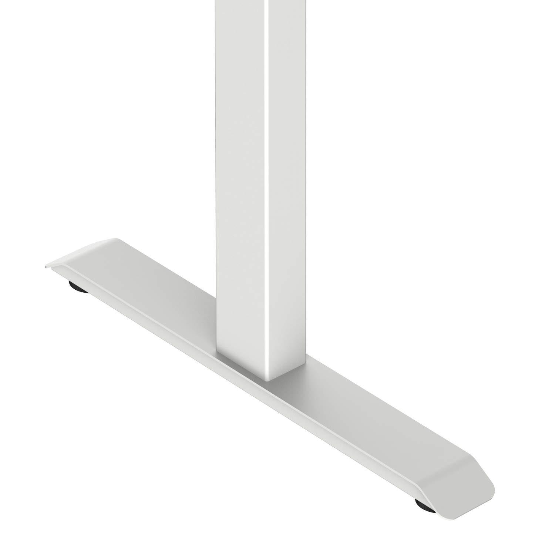 AdvanceUp Electric Stand Up Desk Frame Workstation Desk Frame /& Table Top Bundle Dual Motor Ergonomic Standing Height Adjustable Base White