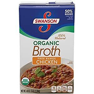 SWANSON, BROTH, OG2, CHICKEN, Pack of 8, Size 48 FZ - No ...