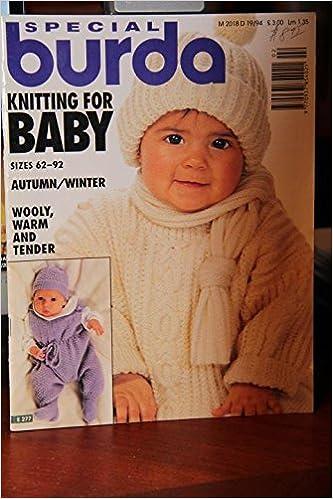 Special Burda Knitting For Baby Sizes 62 92 Autumnwinter E 277