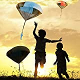 Toy Parachute Tangle Free Men 3 Piece Set No Batteries Toss It High Watch It Fly AMENON