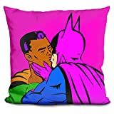 LiLiPi Gay Batman-Superman Decorative Accent Throw Pillow