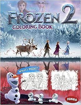 Frozen 2 Coloring Book: Frozen Coloring Book Ultimate ...
