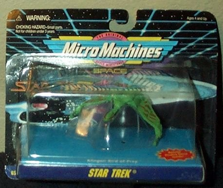 Star Trek Micro Machines Klingon Bird of Prey by Galoob