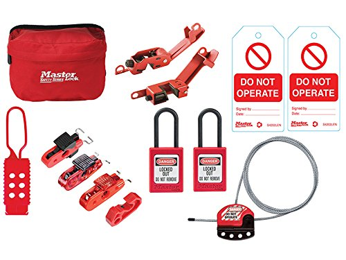 MasterLock General Maintaince Lockout / Tagout Kit by Master Lock