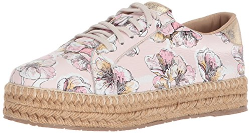 Sneaker KAANAS Leather Arizona Espadrille Women's Rose nOOIqZx