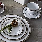 Noritake Austin Platinum 50-Piece Dinner Dinnerware