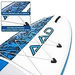 AKD-Germany-Sea-Lion-106-Paddle-Board-SUP-Ultra-Robusto-con-Pompa-Pagaia-Telescopica-in-Alluminio-Guinzaglio-Zaino-320-X-81-X-15-Cm-Stand-Up-Paddle-Gonfiabile-Kayak-per-Crociera