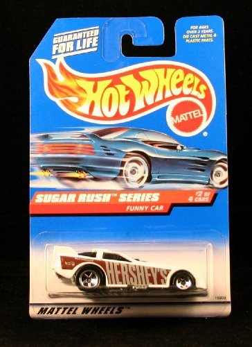 (FUNNY CAR * SUGAR RUSH SERIES #2 of 4 * HOT WHEELS 1998 Basic Car Series * Collector #742 *)