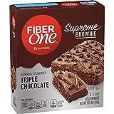 Fiber One Supreme Brownie Triple Chocolate 5 Count
