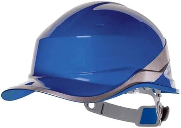 ZBM-ZBM Casco Tipo V Tira Fluorescente LED Aislamiento Antiácaros ABS Obra De Construcción Construcción Casco De Ventilación Gorra De Béisbol PPE Casco de Seguridad Industrial (Color : Blue): Amazon.es: Hogar