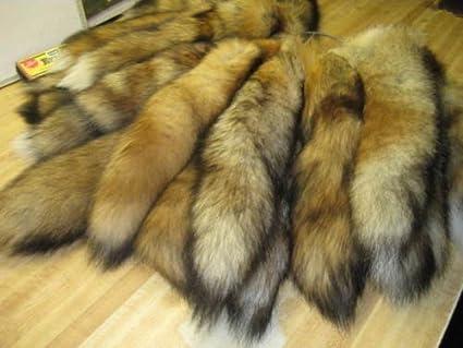 """Hide Winter """"Heavy Fur,""""  large Tanned Red Fox Fur Pelt Grades 1 /& 2"""