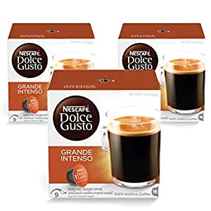 Nescafe Dolce Gusto Grande Intenso Coffee Capsules (48 Capsules, 48 Cups)