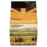 Sharpham Park Organic Spelt White Flour (1Kg) - Pack of 2