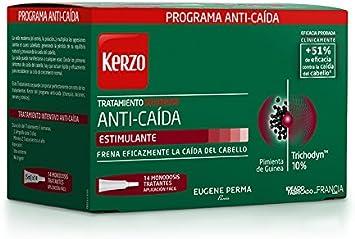 Kerzo Tratamiento Intensivo Anticaída en Ampollas - 14 Unidades