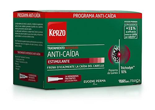 Kerzo Tratamiento Intensivo Anticaída en Ampollas - 14 Unidades Eugene Perma 3140100252781