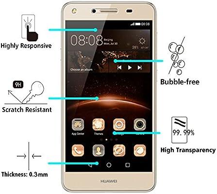 ivoler [2 Unidades] Protector de Pantalla para Huawei Y5 II / Y5 2 ...