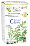 Celebration Herbals C Blend Tea Organic -- 24 Tea Bags
