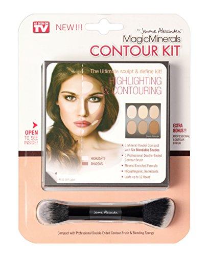 Magic Minerals Contour Makeup Palette Complete Contour Kit By