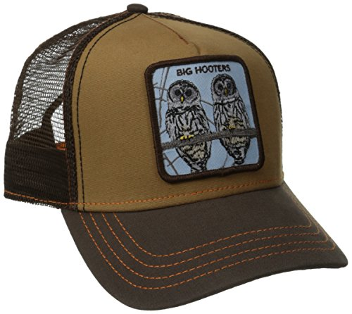 Goorin Bros. Men's Animal Farm Trucker Hat, Brown Owl, One Size