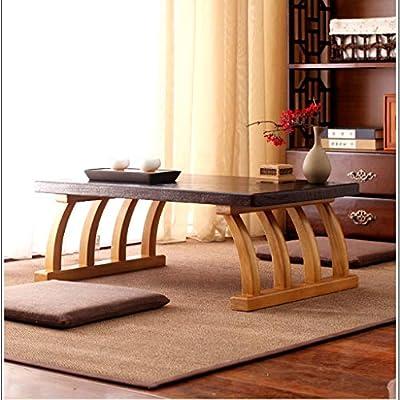 Mesa de centro Tatami Mesa de café Ventana de la bahía Ventana de ...