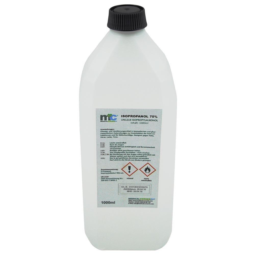 Medicalcorner24 Isopropanol 70 Isopropylalkohol 2 Propanol 1
