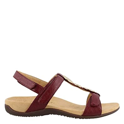 915503bd86b6 Vionic Women s Rest Farra Backstrap Sandal - Ladies Adjustable Sandals with  Concealed Orthotic Support  Amazon.co.uk  Shoes   Bags