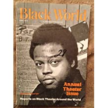 "TODAY ONLY! $10 Negro Digest Magazine (April 1974) - ""Reports on Black Theater Around the World"""