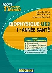 Biophysique : Cours, exercices, annales et QCM corrigés