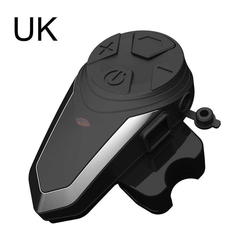 lurdausXD BT-S3 1000m GPS Motorcycle Helmet Bluetooth Stereo Headset Motorcycle walkie-Talkie Bluetooth Headset Support MP3, GPS, Mobile Phone, walkie-Talkie, etc.