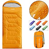 Camping Sleeping Bag Adult for 0 to 20 Degrees Fahrenheit 4 Season Envelope Mummy Outdoor Lightweight Portable Waterproof Perfect for Traveling,Hiking Activities