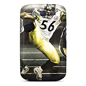 SherriFakhry Samsung Galaxy S3 Anti-Scratch Hard Cell-phone Case Support Personal Customs Trendy Pittsburgh Steelers Series [wcF13705CmLj]