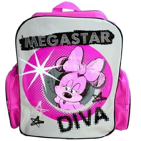Minnie Mouse Diva de mochilas escolares con mochila de: Amazon.es: Jardín