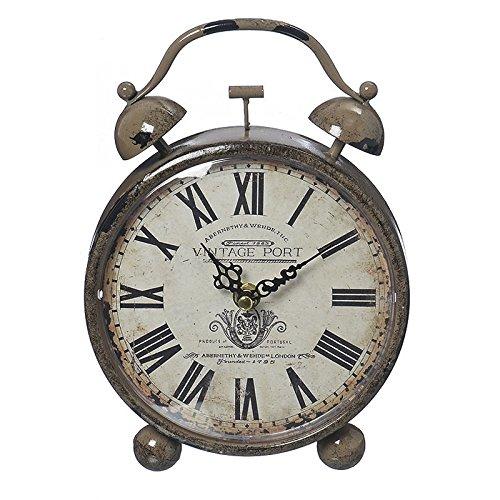 Sveglia, orologio da tavolo Vintage con numeri Romani Boltze