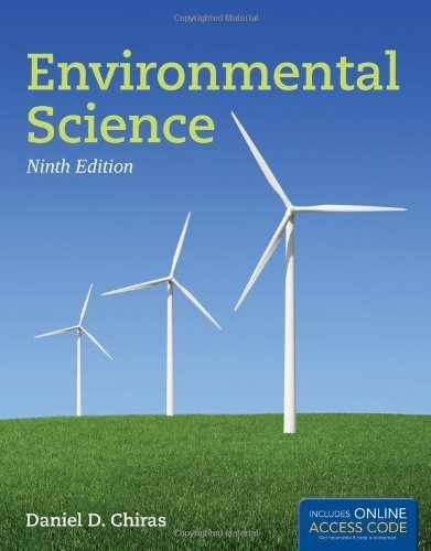Environmental Science 9th edition by Chiras, Daniel D. (2012) Paperback (Environmental Science Earth As A Living Planet)