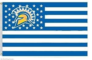 San Jose State University banderines de vuelo tamaño 3X 5pies