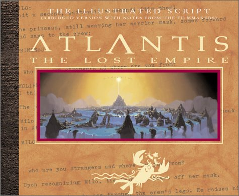 Atlantis: The Lost Empire: The Illustrated Script (Abridged with Notes From the Filmmakers) Red Atlantis Art