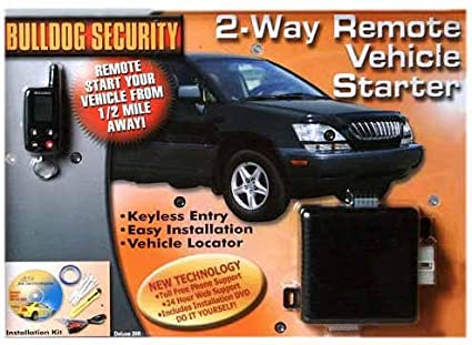image unavailable  image not available for  color: bulldog security 2 way remote  vehicle starter
