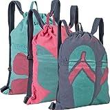 Life is Good Unisex-Adult Flip Flops Easy Breezy Cinch Sack (Fog Blue, One Size), Bags Central