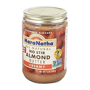 Maranatha Creamy Almond Butter, No Stir, 12 oz