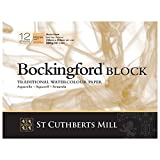 Bockingford : BLOCK 9x12in : 140lb (300gsm) Rough : 12s