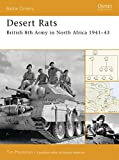 Desert Rats: British 8th Army in North Africa 1941–43 (Battle Orders)
