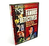 Famous TV Detectives Collection (Peter Gunn / Burke's Law / Richard Diamond / The Lone Wolf / I Am The Law / Treasury Men In Action / Checkmate / Homicide Squad) (2-DVD)